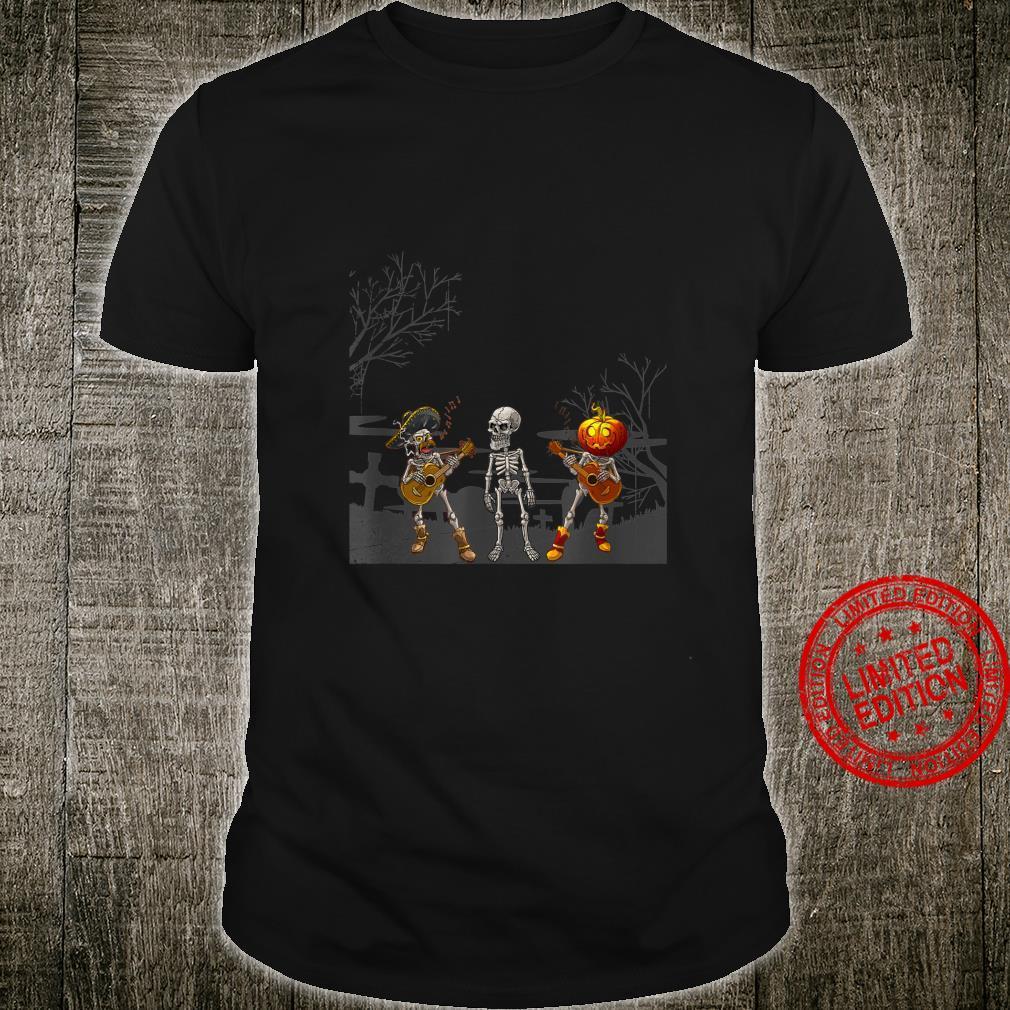 Mariachi Band Halloween Shirt