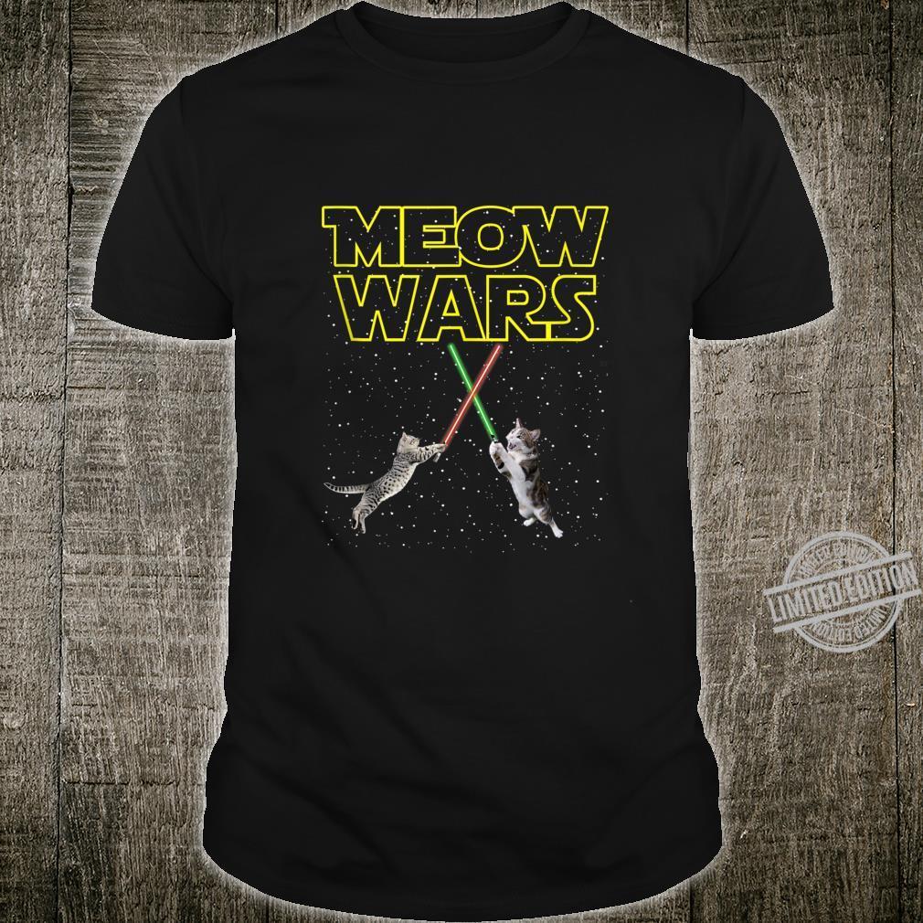 Meow Wars Cat Shirt For Catss Shirt