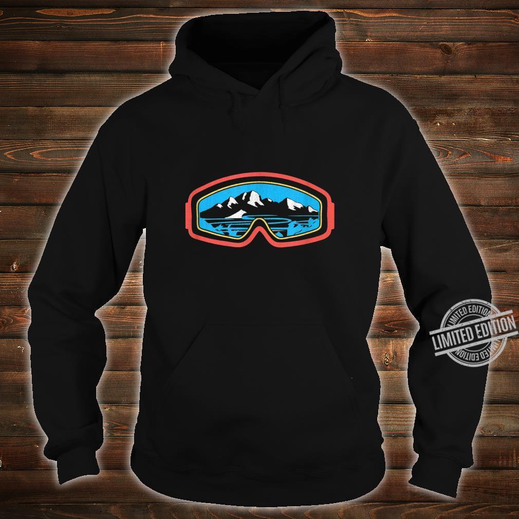 Snowboarder, Ski, Schnee und Bergliebhaber Shirt hoodie