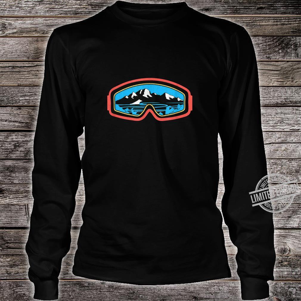 Snowboarder, Ski, Schnee und Bergliebhaber Shirt long sleeved