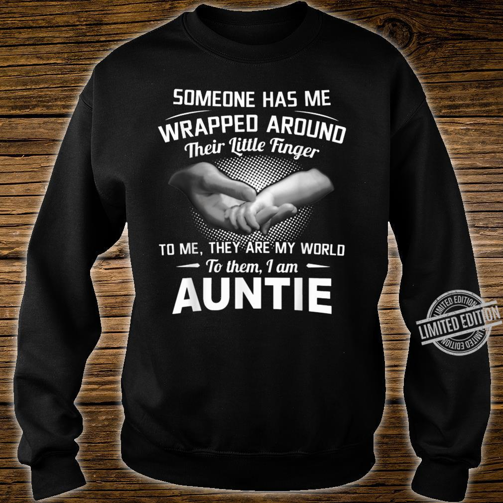 Someone Has Me Wrapped Around Their Little Finger To Me Shirt sweater