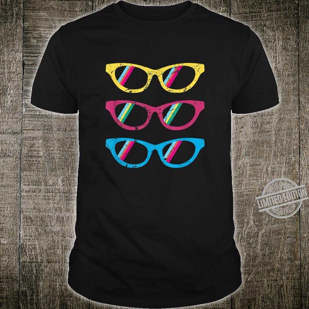 Sonnenbrillen bunt lustig Geschenk Geburtstag Mann Frau Shirt