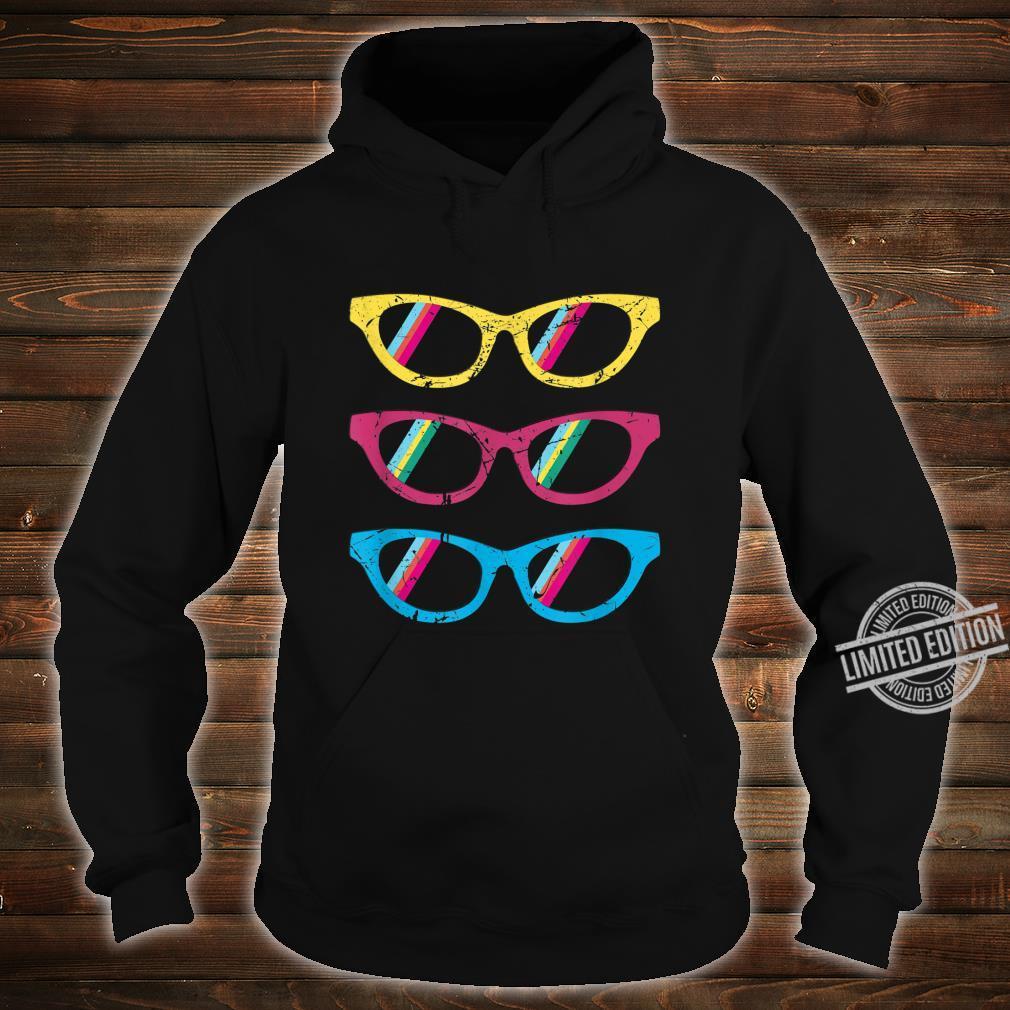 Sonnenbrillen bunt lustig Geschenk Geburtstag Mann Frau Shirt hoodie