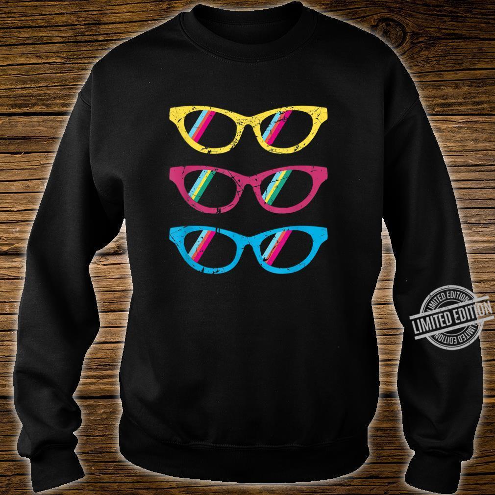Sonnenbrillen bunt lustig Geschenk Geburtstag Mann Frau Shirt sweater
