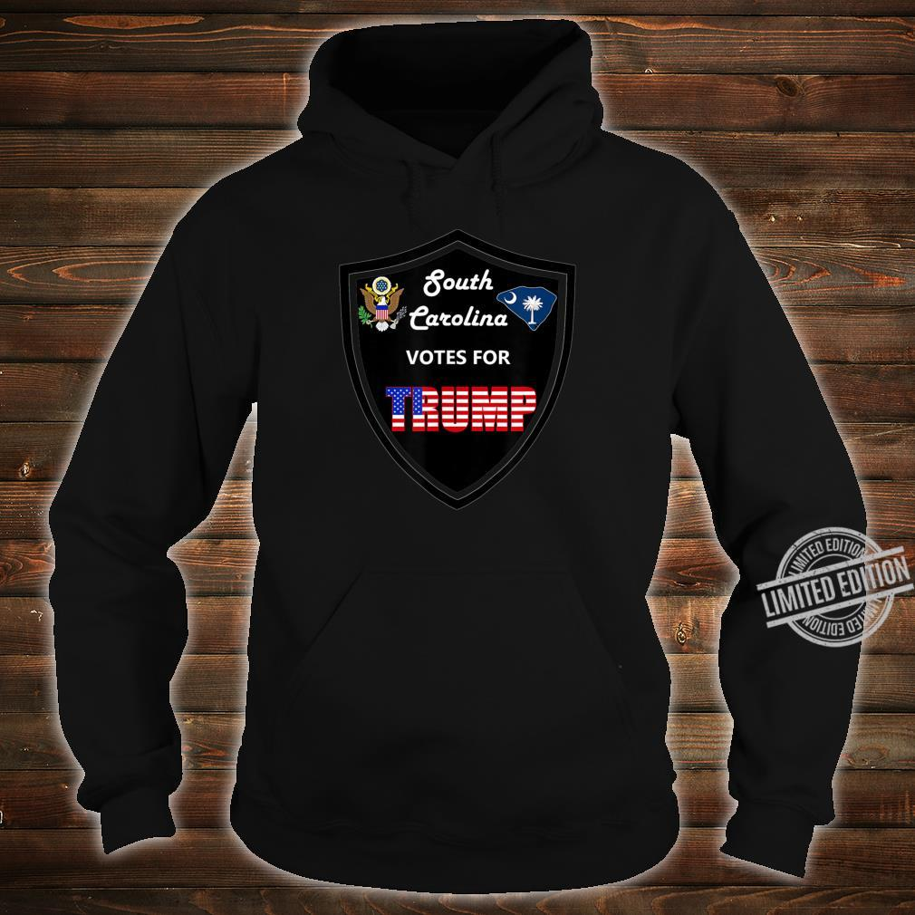South Carolina Votes For Trump President 2020 Farbserie 2 Shirt hoodie