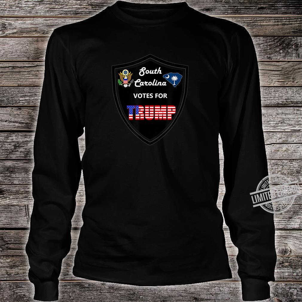 South Carolina Votes For Trump President 2020 Farbserie 2 Shirt long sleeved