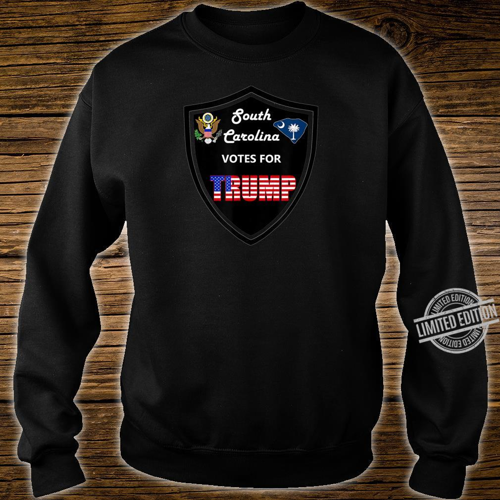 South Carolina Votes For Trump President 2020 Farbserie 2 Shirt sweater