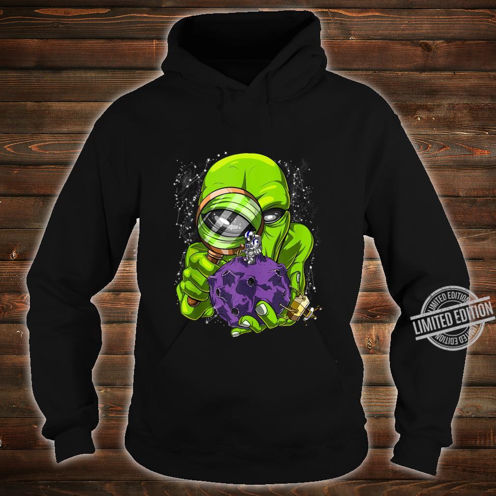 Space Alien Abduction Astronaut UFO Extraterrestrials Shirt hoodie