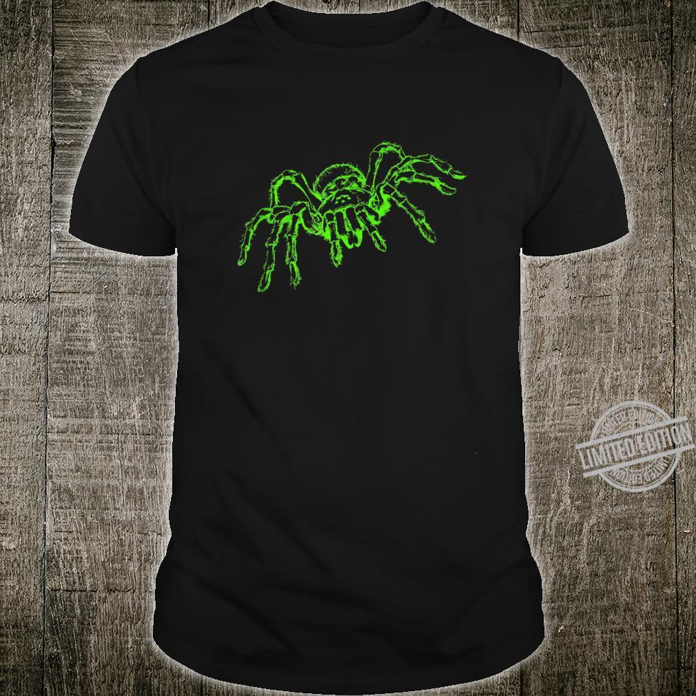 Spinne Tarnatel Neongrün Insekt Shirt