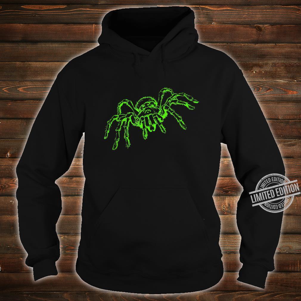 Spinne Tarnatel Neongrün Insekt Shirt hoodie