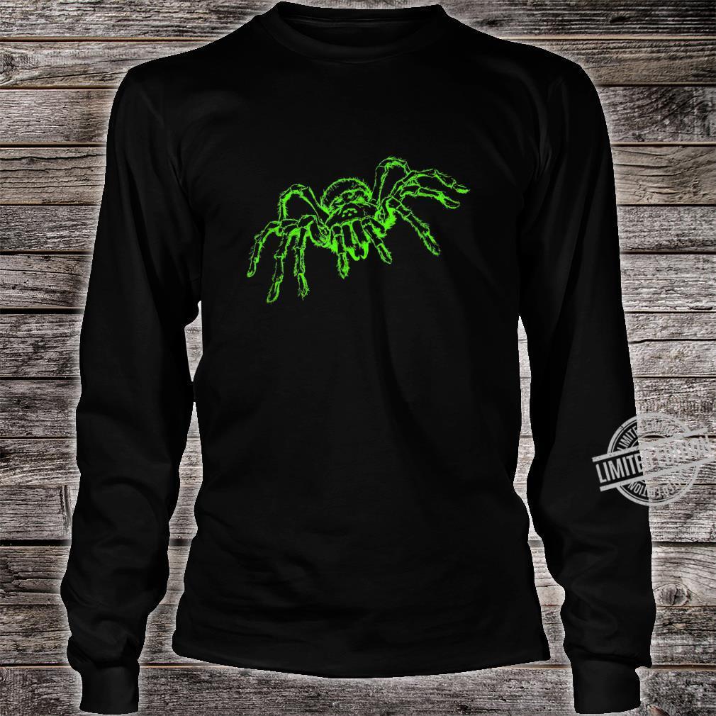 Spinne Tarnatel Neongrün Insekt Shirt long sleeved