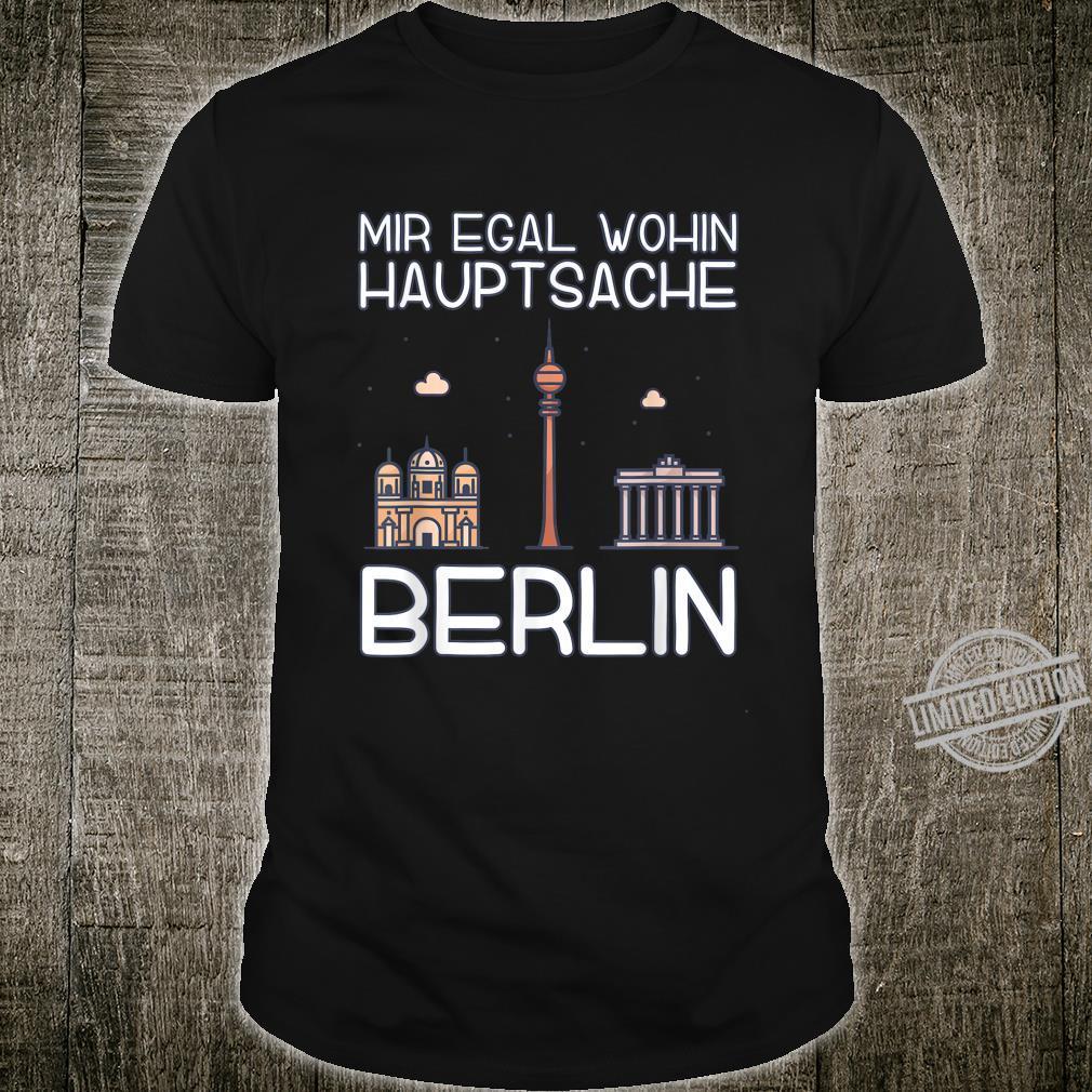 Stadt Reisen Städtereisen Kleidung Skyline Geschenk Berlin Shirt