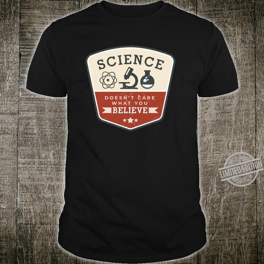 Wissenschaft Physik Chemie Lehrer Dozent Geschenkidee Spruch Shirt